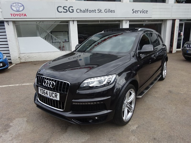 used Audi Q7 TDI QUATTRO S LINE PLUS - PANORAMIC ROOF - FASH - H/LEATHER in amersham