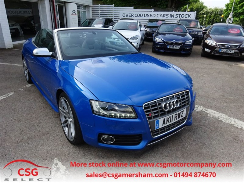 used Audi S5 TFSI QUATTRO AUTO - FSH - HEATED LEATHER - NAV - BLUETOOTH - CRUISE in amersham