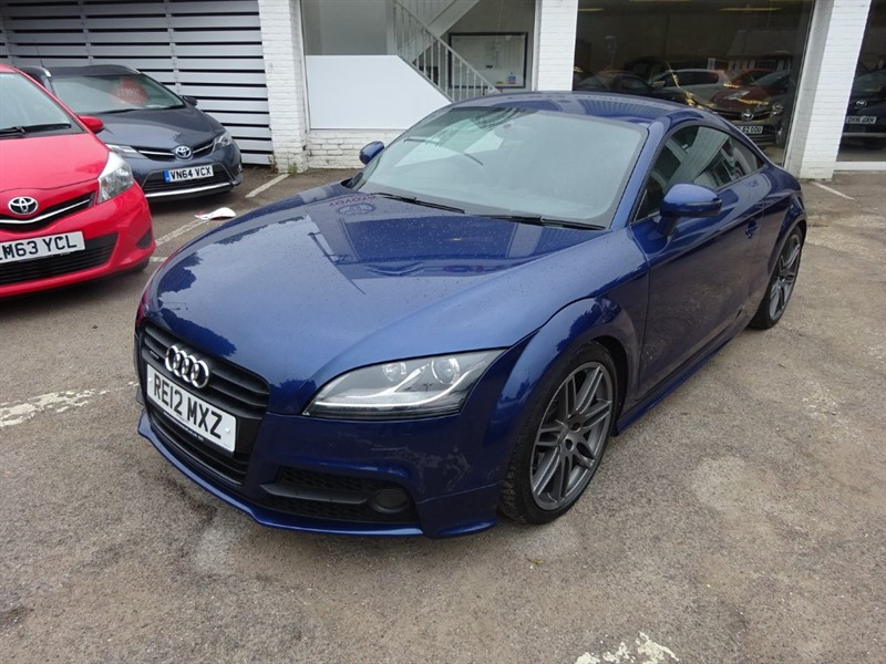 used Audi TT TFSI QUATTRO S LINE BLACK EDITION - 1/2 LEATHER - FSH - 19