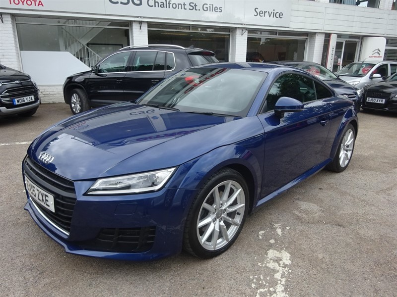 used Audi TT TFSI SPORT - 1/2 LEATHER - R/SENSORS - FASH in amersham
