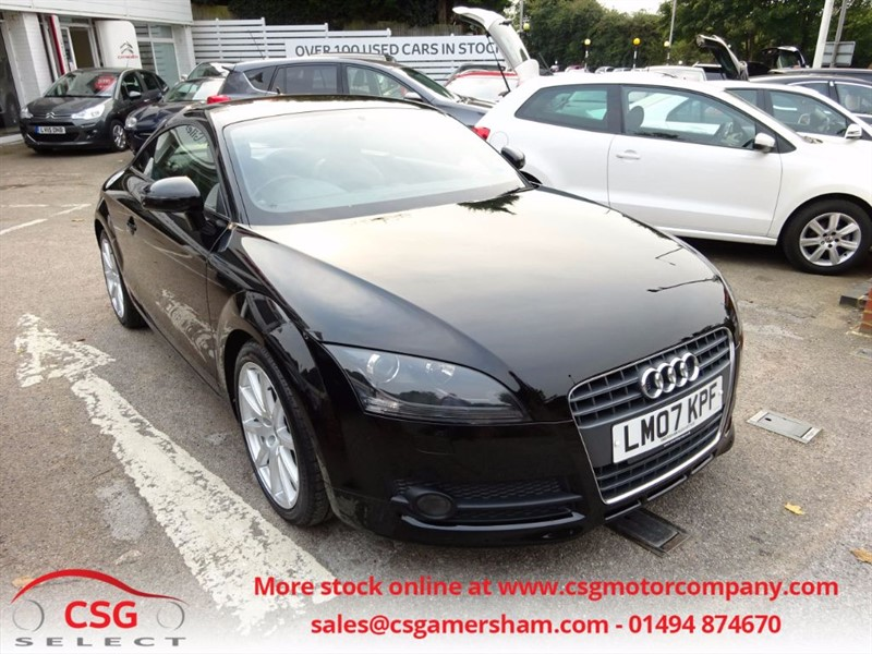 used Audi TT TFSI AUTO - FSH - CAMBELT CHANGED - BOSE - BLUETOOTH - ALLOYS in amersham