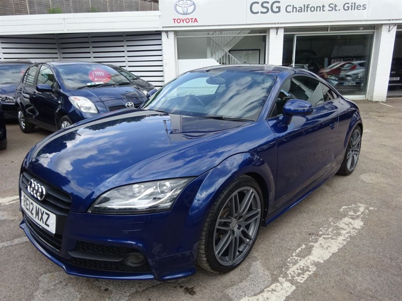 used Audi TT TFSI QUATTRO S LINE BLACK EDITION - 1/2 LEATHER - FSH  - BOSE- in amersham