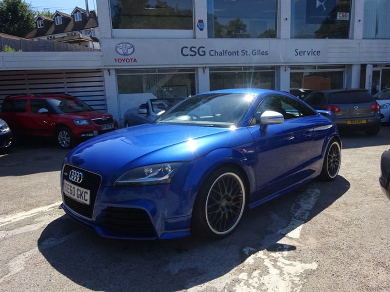 used Audi TT RS RS TFSI QUATTRO - SAT NAV - BLUETOOTH - R/ SENSORS in amersham