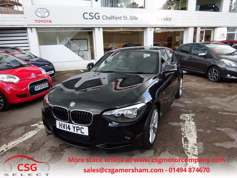 used BMW 116i M SPORT AUTO - FBMWSH - LEATHER - CLIMATE - DAB - BLUETOOTH in amersham