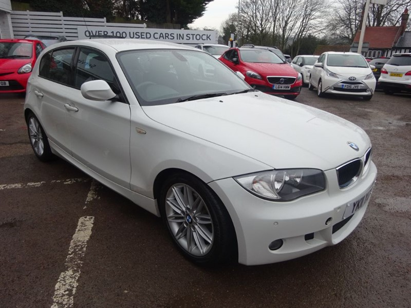 used BMW 120d M SPORT AUTO -FBSH - CLIMATE -1/2 LEATHER -BLUETOOTH - CRUISE in amersham