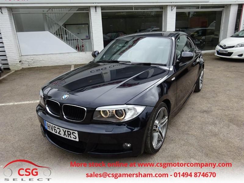 used BMW 123d SPORT PLUS EDITION AUTO - LEATHER - PRO NAV - HARMON/KARDON - BLUETOOTH in amersham