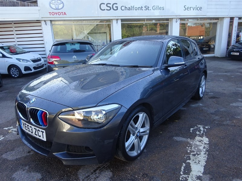 used BMW 118d M SPORT - SAT NAV - BLUETOOTH  - FBMWSH - £30 TAX in amersham