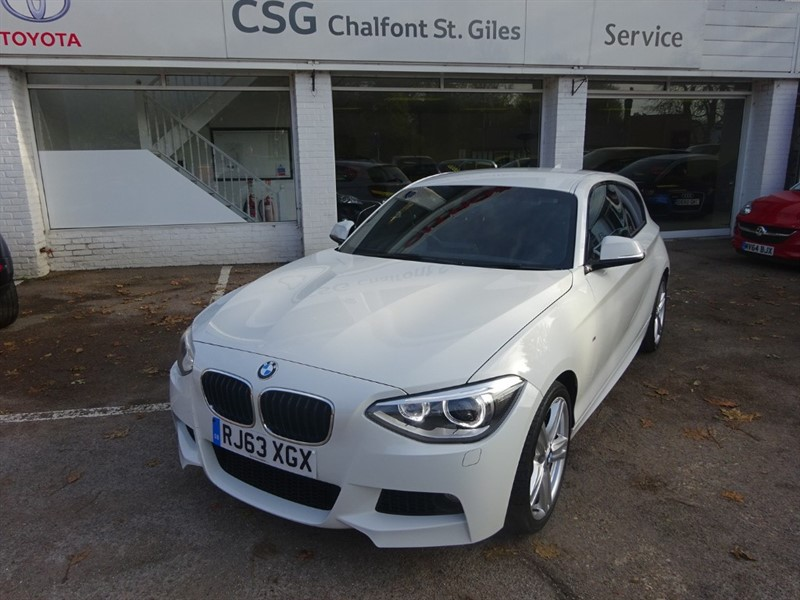 used BMW 118d M SPORT - H/ SEATS -XENONS- HARMAN KARDON SOUND in amersham