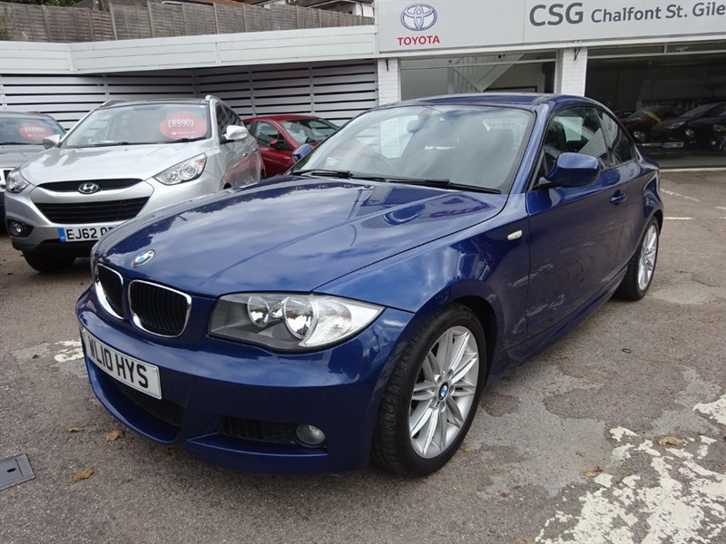 used BMW 120d M SPORT - R/ SENSORS - ALLOYS - AIR CON in amersham