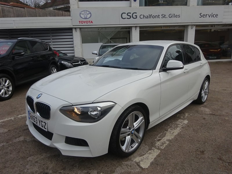 used BMW 120d M SPORT - FBSH - CLIMATE - R/SENSORS in amersham