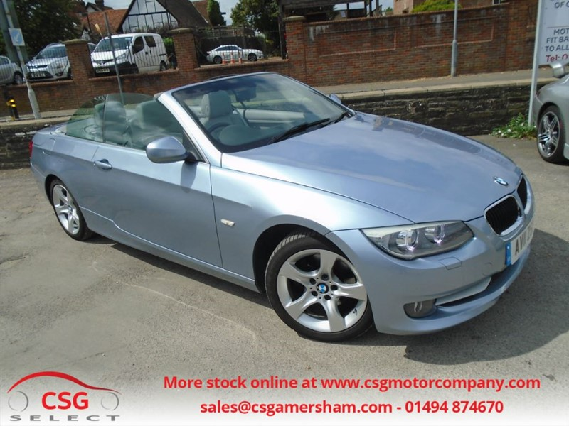 used BMW 320d SE AUTO - LEATHER - CLIMATE - CRUISE - FSH - ALLOYS in amersham