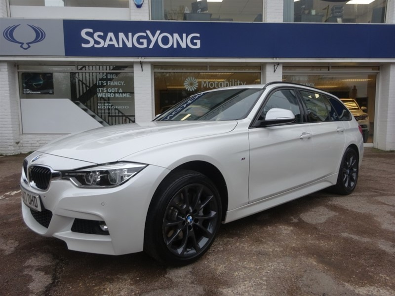 used BMW 335d XDRIVE M SPORT TOURING - SUNROOF - LEATHER - SAT NAV in amersham