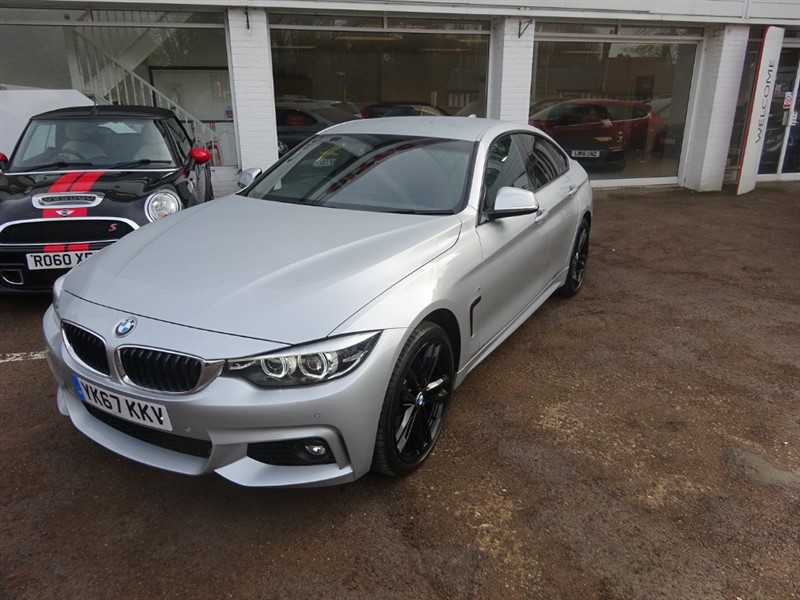 used BMW 420d XDRIVE M SPORT GRAN COUPE -SAT NAV - H/LEATHER  - in amersham