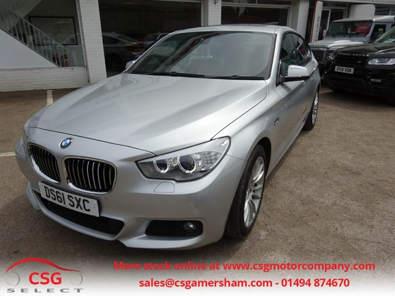 used BMW 530d M SPORT GRAN TURISMO - FSH - PRO NAV - PAN ROOF in amersham