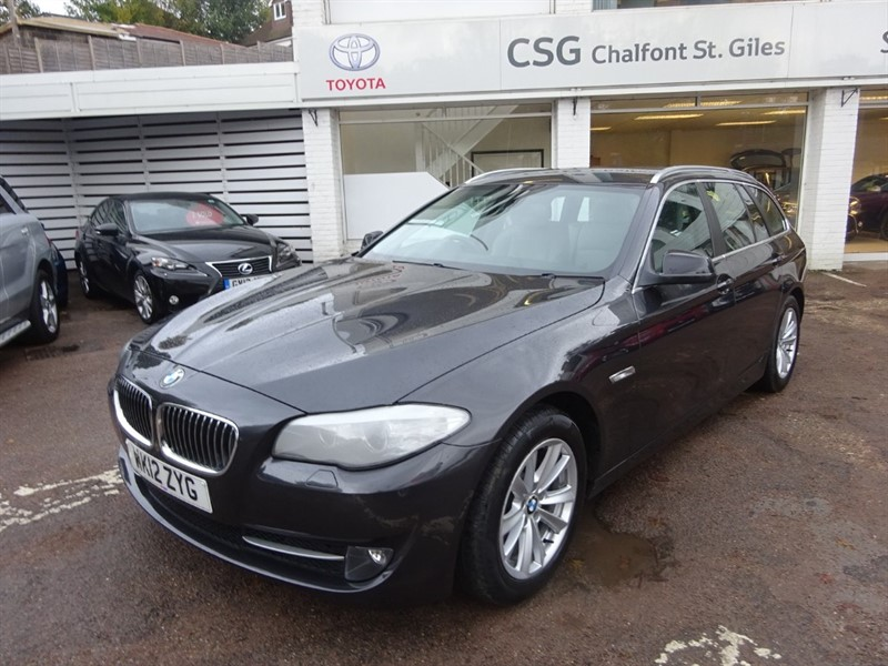 used BMW 520d SE TOURING - PRO NAV - PDC - LEATHER - FBSH in amersham