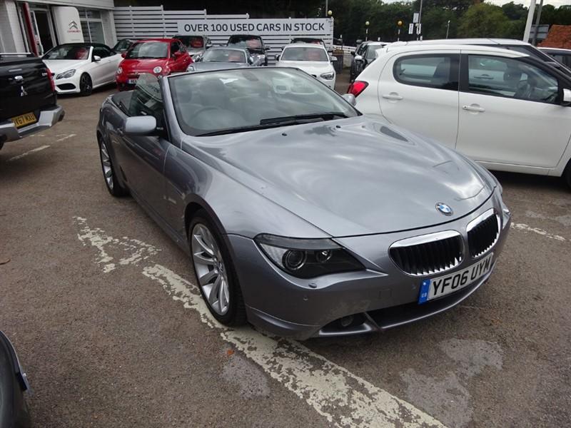 used BMW 630i SPORT in amersham
