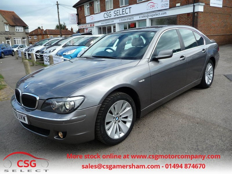 used BMW 730d SE AUTO - FBMWSH - LEATHER - NAV - CLIMATE - CRUISE in amersham