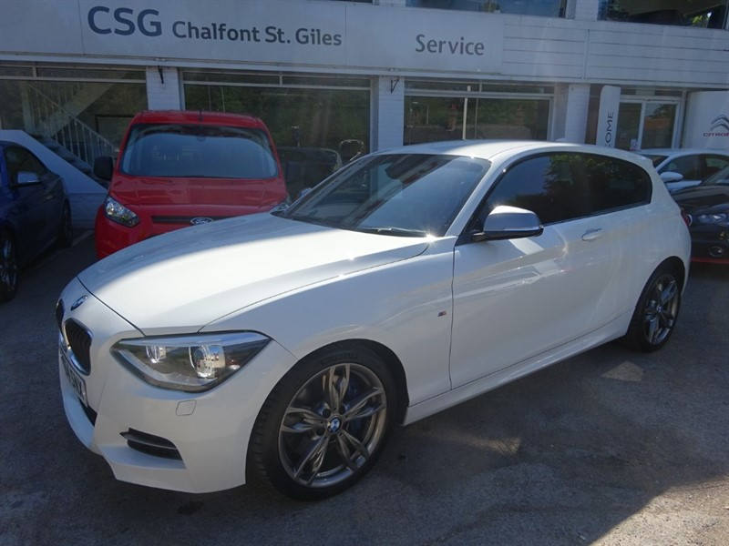 used BMW M135i M135 - H/RED LEATHER - SAT NAV - FMSH - R/SENSORS - CRUISE CONTROL in amersham