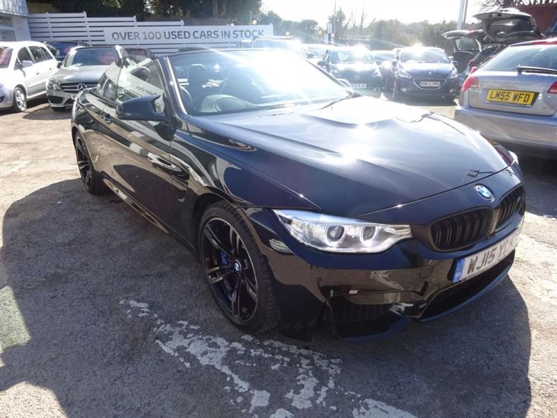 used BMW M4 3.0 - SAT NAV -H/LEATHET - HEAD UP DISPLAY - FBSH in amersham