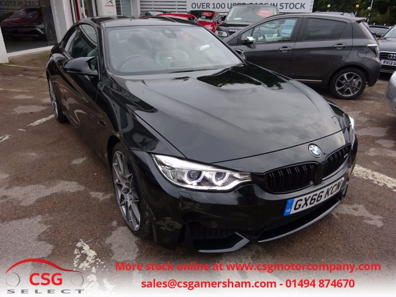 used BMW M4 COMPETITION PACKAGE- 450 BHP- ADAPTIVE  M CHASSIS - CARBON ROOF in amersham