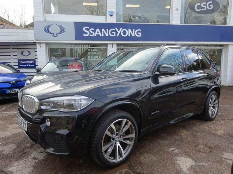 used BMW X5 XDRIVE40E M SPORT -PANROOF- 360 CAMERA - HEAD UP DISPLAY in amersham