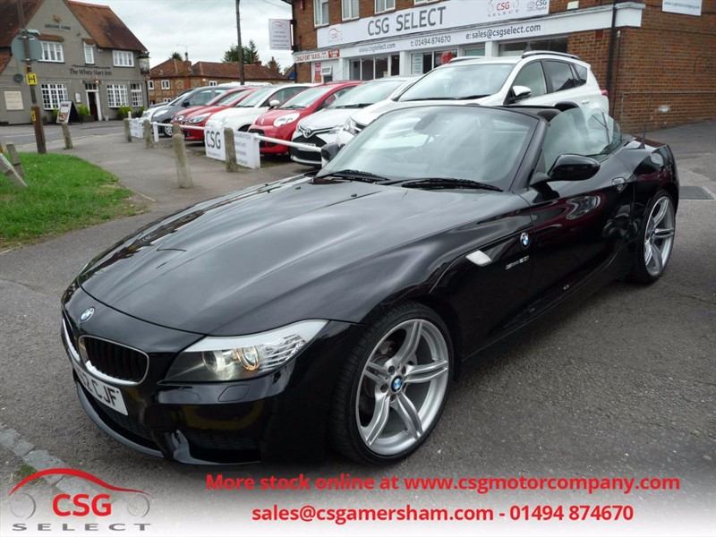 used BMW Z4 SDRIVE20I M SPORT ROADSTER - FBMWSH - PRO NAV - LEATHER - BLUETOOTH in amersham