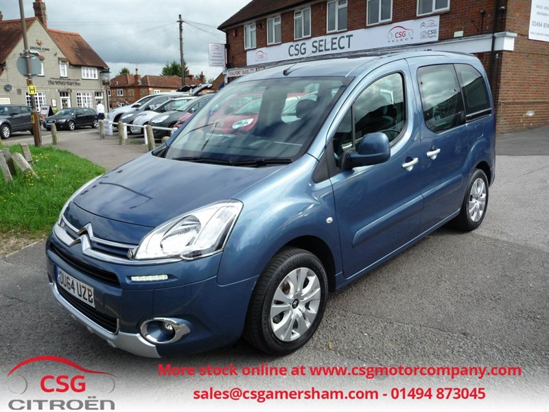 used Citroen Berlingo Multispace HDI PLUS - FCSH - AC - CD - ALLOYS in amersham