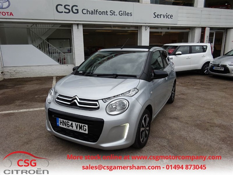 used Citroen C1 AIRSCAPE FLAIR ETG AUTO - BLUETOOTH - DAB - AC - ALLOYS in amersham