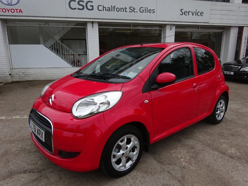 used Citroen C1 VTR PLUS - AIR CON - SUNROOF - FCSH in amersham