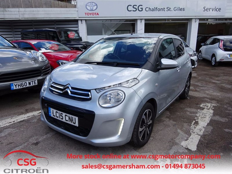 used Citroen C1 PURETECH FLAIR - FCSH - REAR CAMERA - BLUETOOTH - CITROEN WARRANTY in amersham