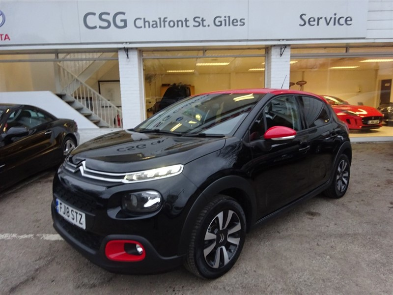 used Citroen C3 PURETECH FLAIR S/S - SAT NAV - FCSH - R/CAMERA - CLIMATE CONTROL in amersham