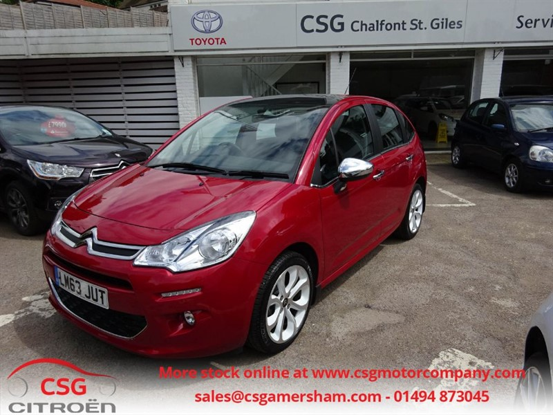 used Citroen C3 E-HDI AIRDREAM SELECTION - FSH - AC - BLUETOOTH - SENSORS in amersham