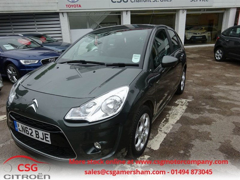 used Citroen C3 EXCLUSIVE AUTO - FSH - CLIMATE - BLUETOOTH - ALLOYS - CRUISE/LIMITER in amersham