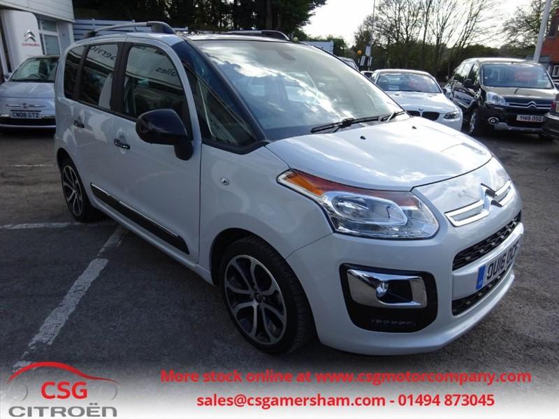used Citroen C3 Picasso BLUEHDI PLATINUM PICASSO - FCSH - SAT NAV - CLIMATE - AUTO LIGHTS - CRUISE in amersham
