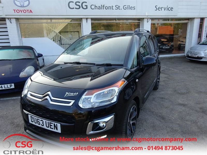 used Citroen C3 Picasso EXCLUSIVE HDI - FSH - LEATHER TRIM - CRUISE - REAR SENSORS in amersham