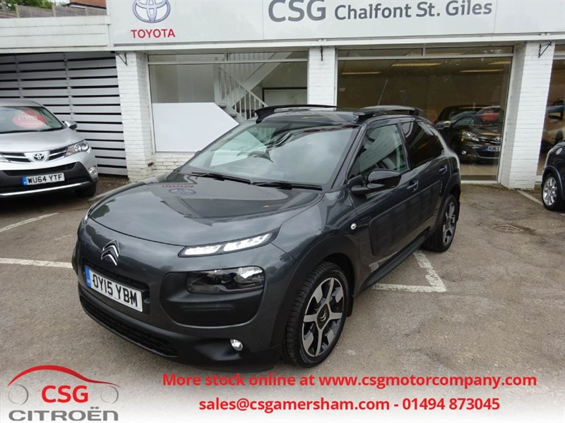 used Citroen C4 Cactus BLUEHDI FLAIR - FCSH - SAT NAV - REAR CAM - BLUETOOTH - DAB in amersham