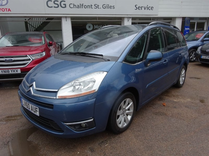 used Citroen C4 HDI EXCLUSIVE EGS GRAND PICASSO - FSH - CLIMATE - R/SENSORS - ALLOYS in amersham