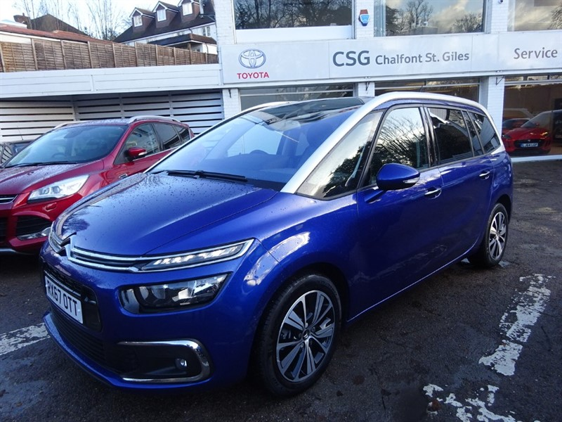 used Citroen C4 Picasso GRAND BLUEHDI FLAIR S/S EAT6 - SAT NAV - P/ROOF - CAMERA in amersham
