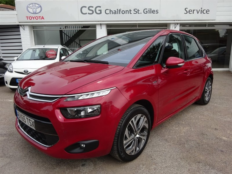 used Citroen C4 Picasso THP EXCLUSIVE EAT6 - FCSH - SAT NAV - R/CAMERA - CLIMATE in amersham