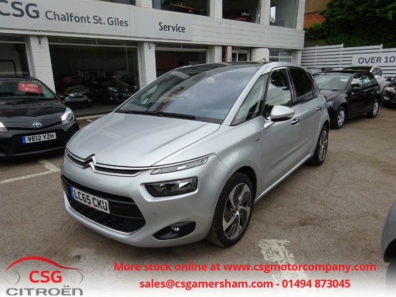 used Citroen C4 Picasso BLUEHDI EXCLUSIVE PLUS - FCSH - NAV - PAN ROOF - REAR CAMERA in amersham