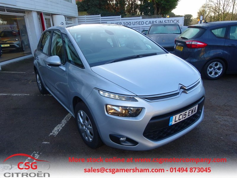 used Citroen C4 Picasso E-HDI VTR PLUS - CLIMATE - FSH - BLUETOOTH - in amersham