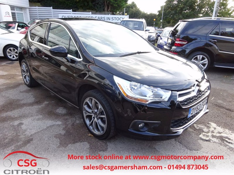 used Citroen DS4 E-HDI AIRDREAM DSTYLE SAT NAV- CRUISE- FFSH in amersham
