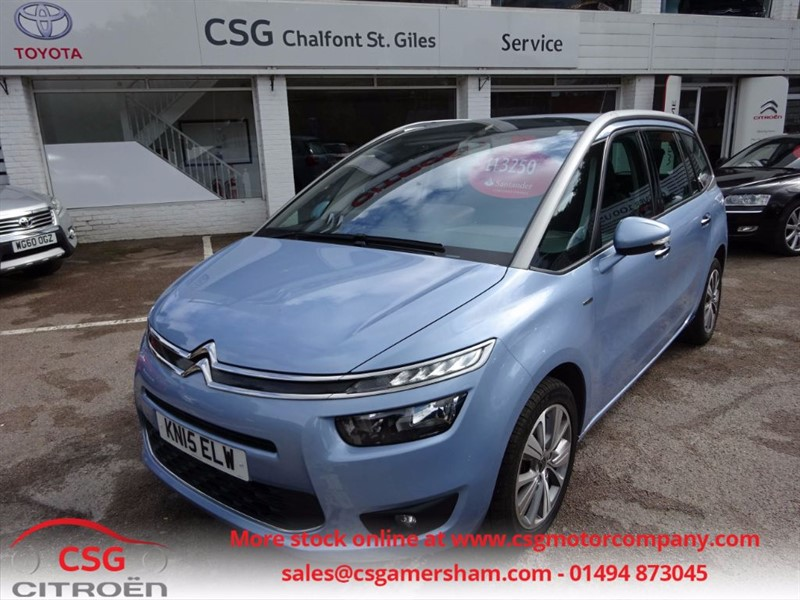 used Citroen Grand C4 Picasso E-HDI EXCLUSIVE - FSH - SAT NAV - 7 SEATS in amersham