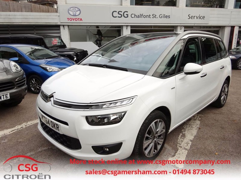 used Citroen Grand C4 Picasso BLUEHDI EXCLUSIVE EAT6 AUTO - SAT NAV - FSH - 7 SEATS - KEYLESS - REAR CAM in amersham