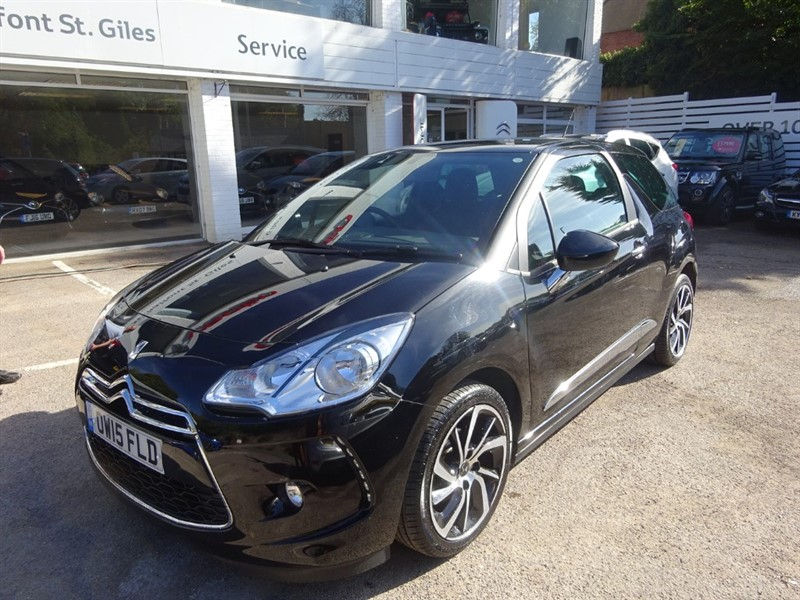 used DS 3 PURETECH DSTYLE NAV S/S - BLUETOOTH - FCSH - PDC in amersham