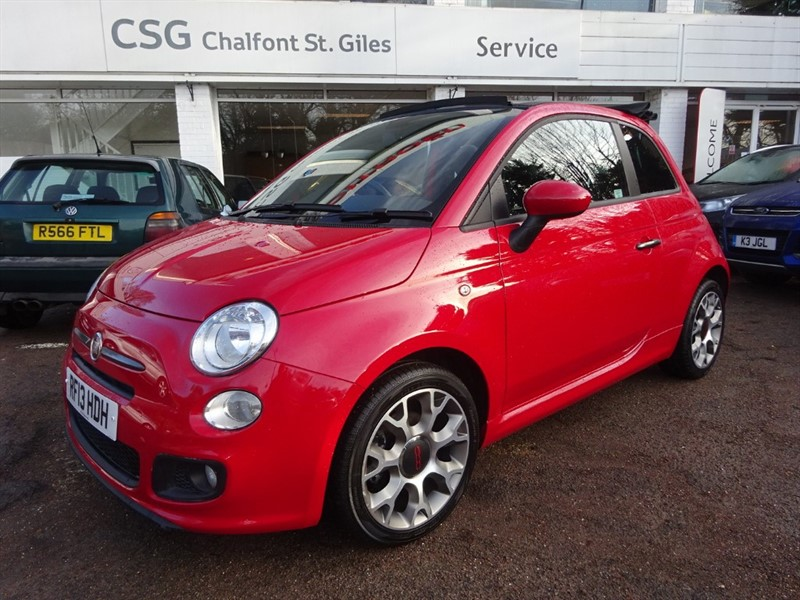 used Fiat 500 C S TWINAIR - FFSH -1/2 LEATHER - PDC - ZERO TAX in amersham