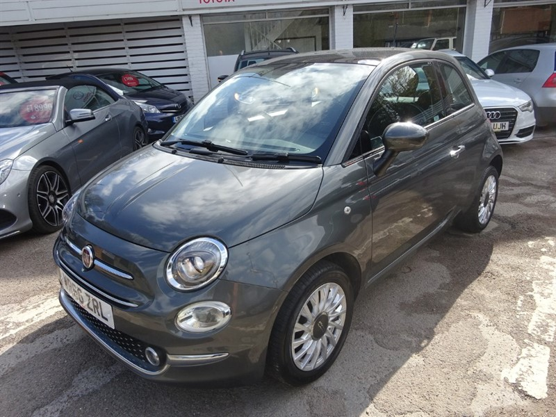 used Fiat 500 LOUNGE - BLUETOOTH - AIR CON - P/ROOF - £20.00 TAX in amersham