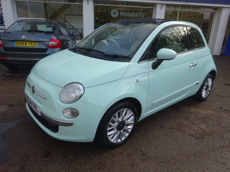 used Fiat 500 TWINAIR  105 BHPLOUNGE -PANROOF -CLIMATE - BLUETOOTH - 15