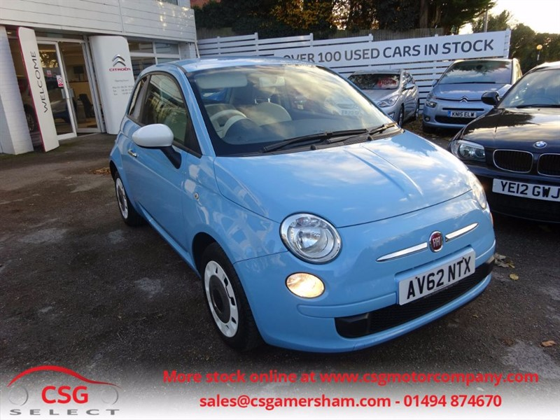 used Fiat 500 COLOUR THERAPY - AIR CON - LOW TAX  in amersham