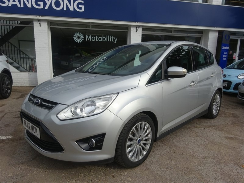 used Ford C-Max TITANIUM TDCI - FFSH - BLUETOOTH - CLIMATE in amersham